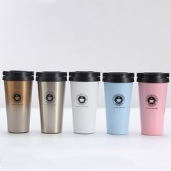 Chinese Factory Wholesale Double Wall Stainless Steel Insulated Travel Coffee Mug