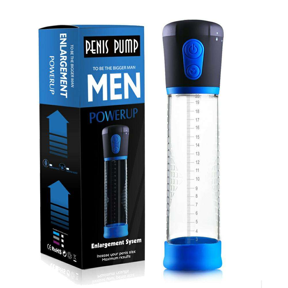 [ Enlargement ] Electric Penis Pump Sex Toys For Men Male Masturbator Penis Extender Penile Vacuum Pump Penis Enlargement Enhancer