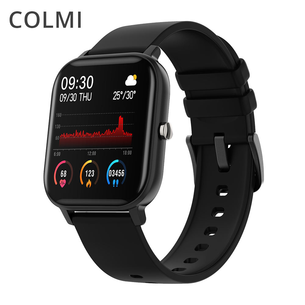 COLMI P8 Smartwatch 1.4 inch Full Touch Screen Fitness Tracker Blood Pressure Smart Watch