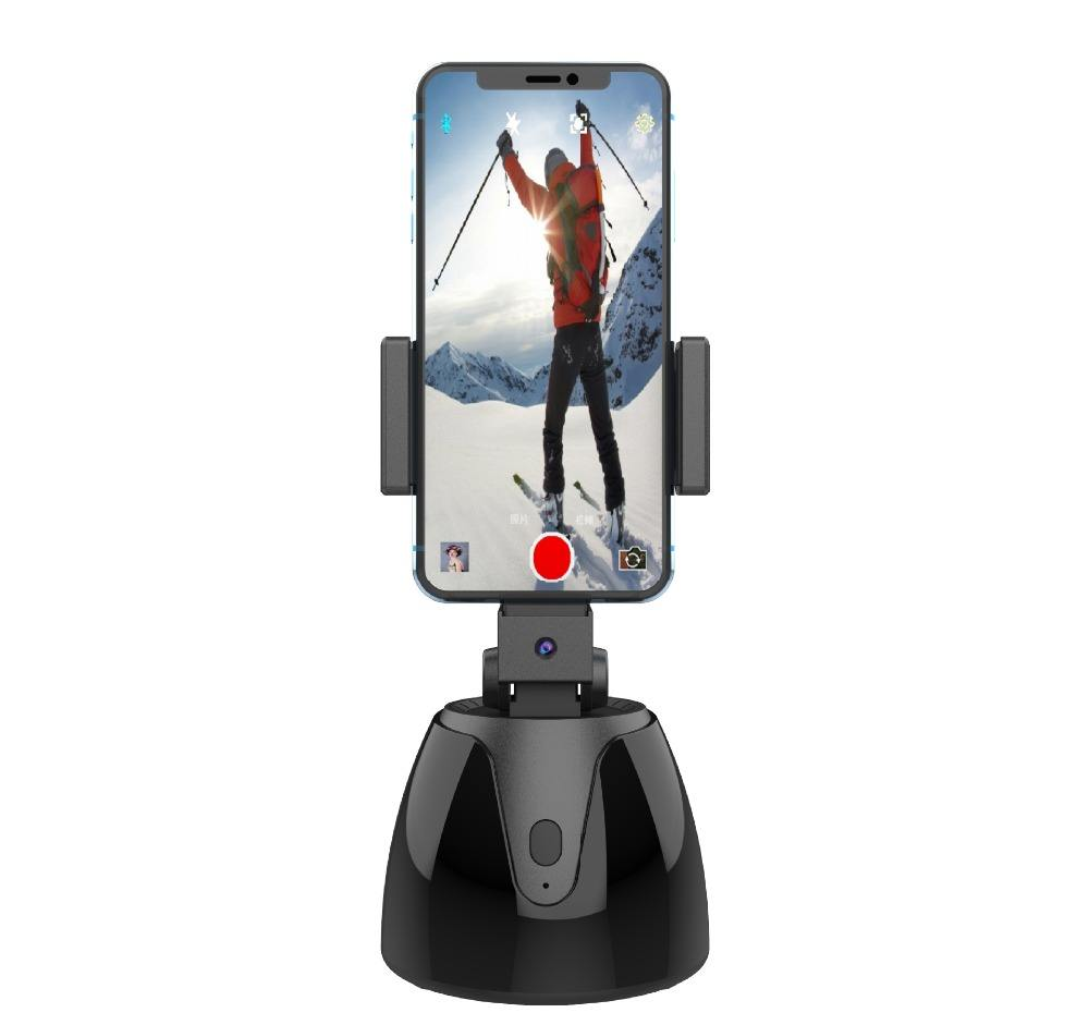 360 Auto Tracking rotatable Smart Following Face Object Tracking Intelligent shootings Phone Mount Personal Sensor Holder Tripod
