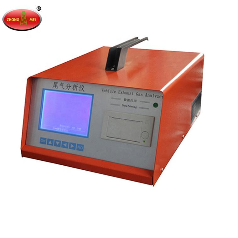 Automobile Exhaust Gas Analyzer Dual-Use Petrol Vehicle Emission Tester