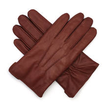Men's Italian Lambskin Leather Gloves Cashmere Lined GM006