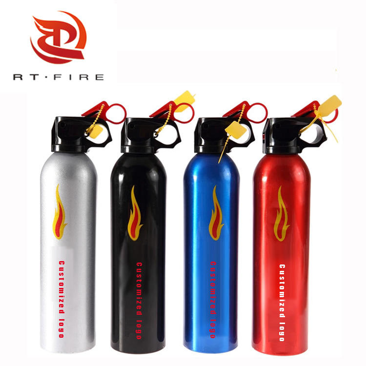 RUNTAI factory wholesale 500g automatic mini car fire extinguisher