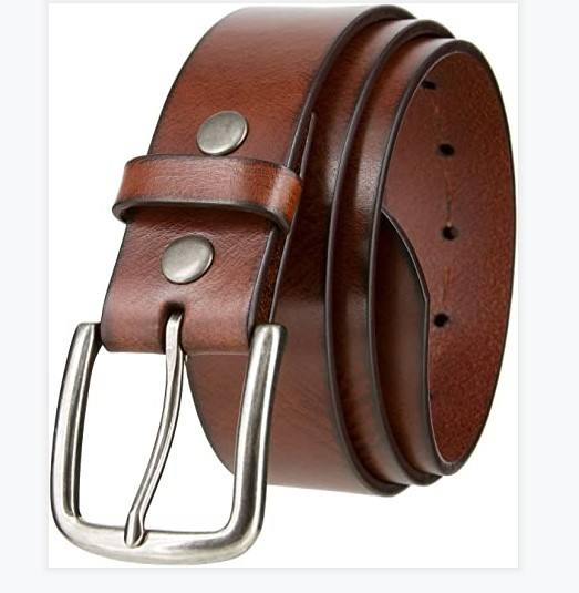 ANSONYE 2021 hot sale genuine leather pants belt handmade leather belt with logo