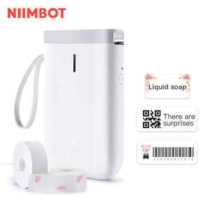 NiiMbot barcode portable mini bluetooth connected smart thermal label printer