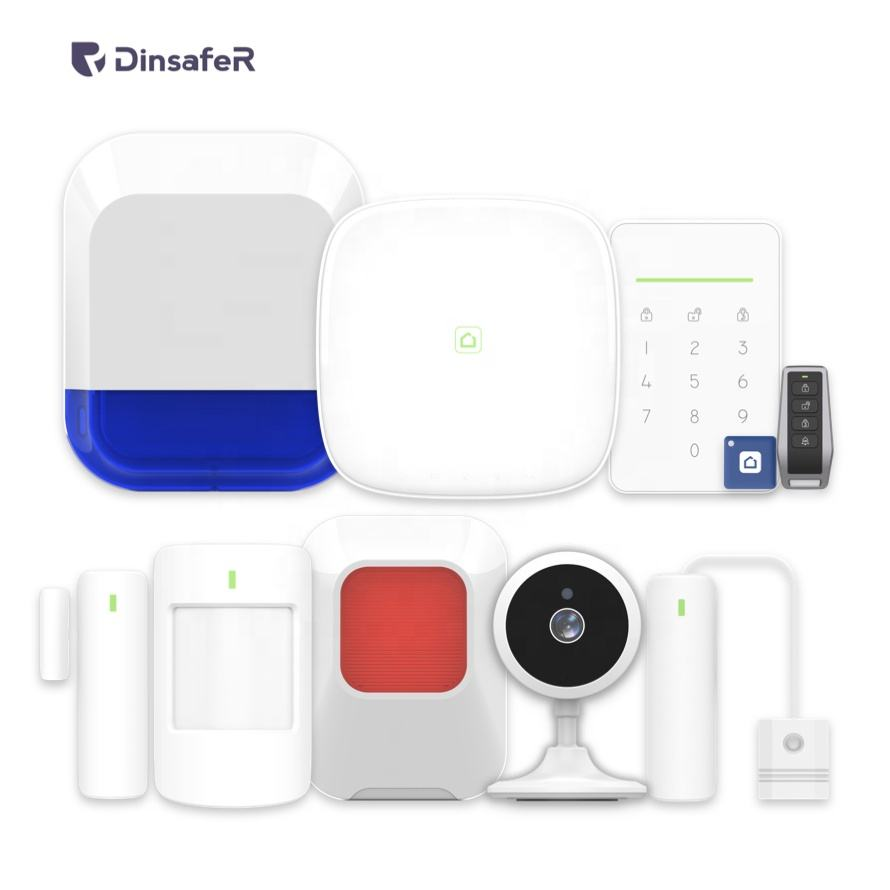 Wholesale All In One Network WiFi LAN GSM 4G Security Alarm System With Android Ios App