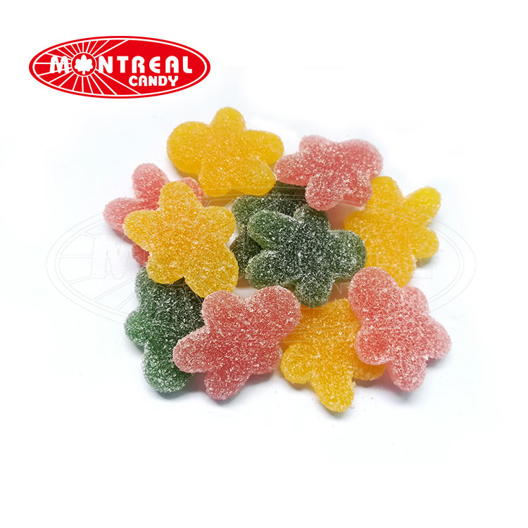 Cute shape fruit flavor soft candy jelly gummy