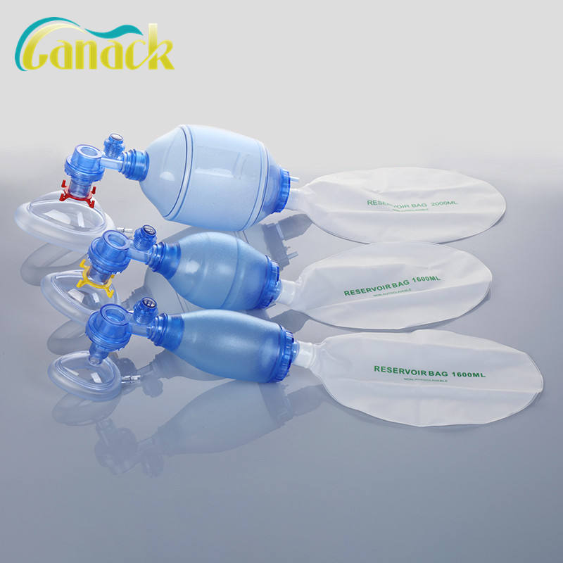 adult pvc manual resuscitator with ISO CE