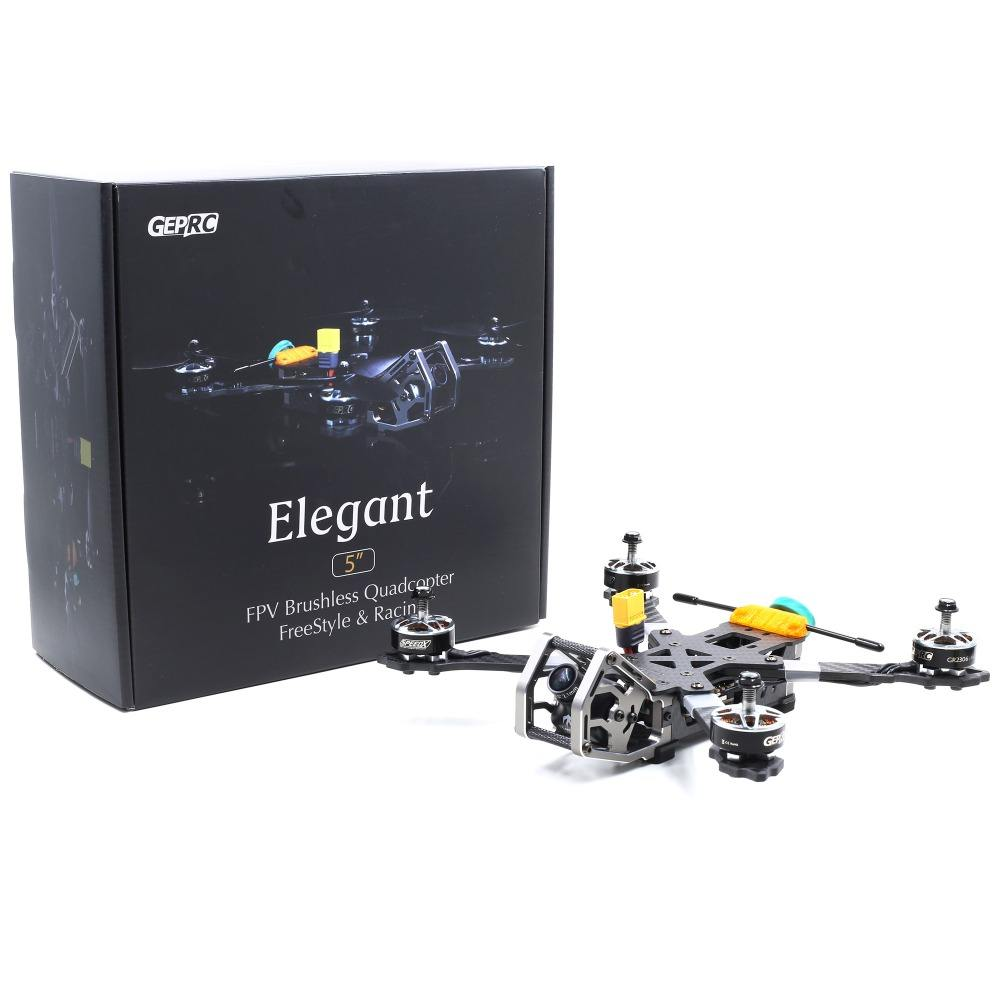 Geprc GEP-KHX5 Elegant 230mm RC FPV Racing Drone W/ F4 5.8G 48CH 40A BLHeli_S Dshot600 RC Racer Quadcopter PNP / BNF
