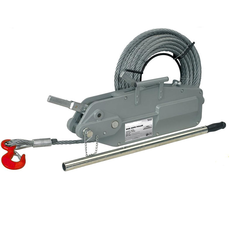 tugger tirfor wire rope winch 3.2T with hand lever