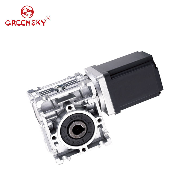 12v 24v 15W to 400W NMRV Worm Gearbox 90 Degree Right Angle DC Gear Motor