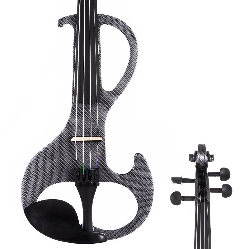 Funny Musical Instruments with bow and case shoulder rest 4/4 profetional strigs electric violin