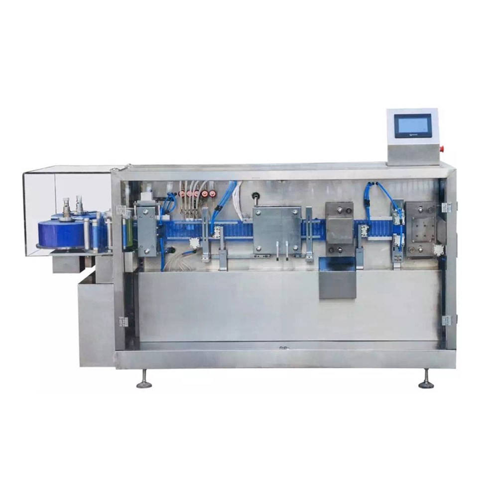 GGS-240 Factory Saling Oral Liquid Forming And Filling Machine Plastic Ampoule Forming Filling Sealing Machine