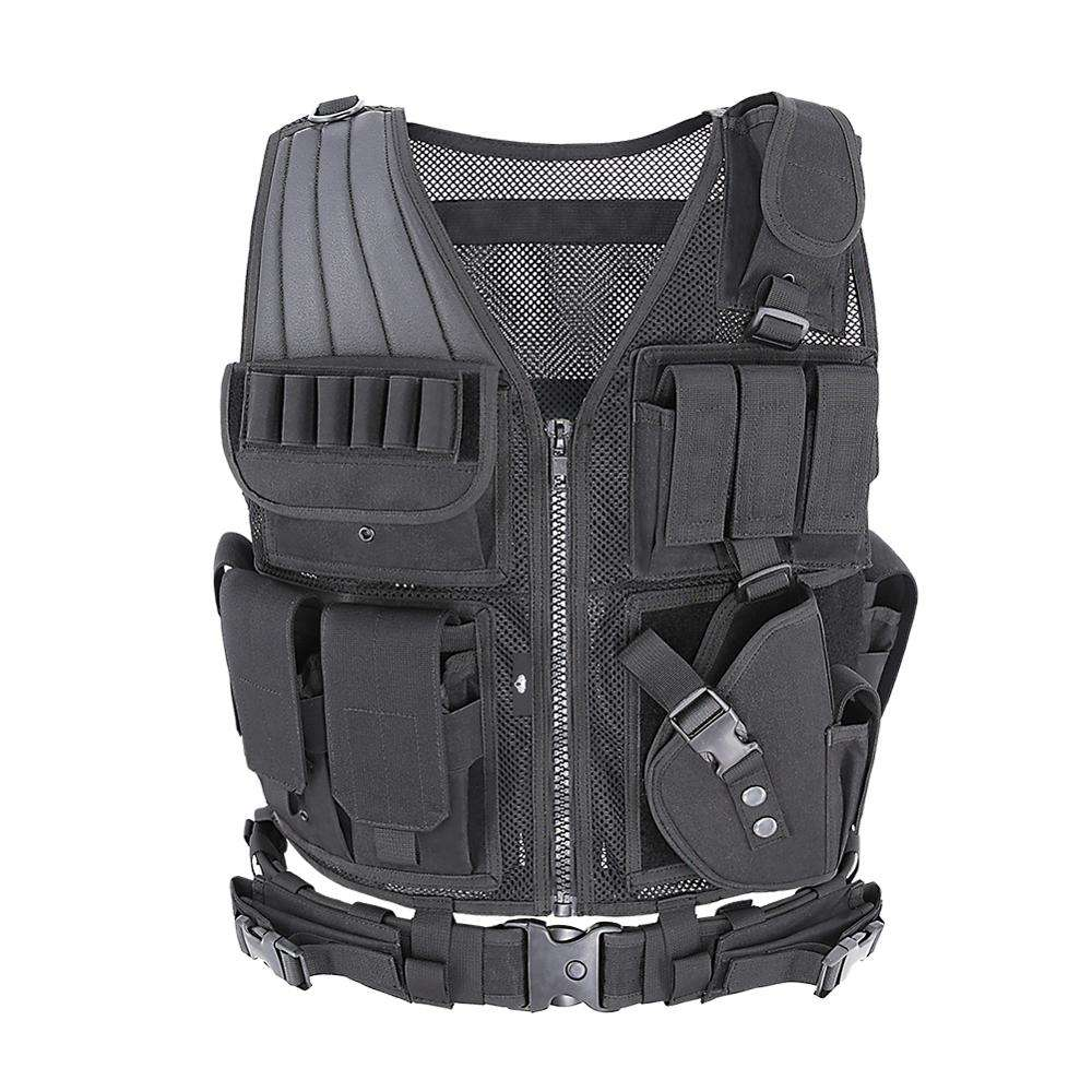 Amazon outdoor hunting army combat military airsoft hi vis tactical reflective vest