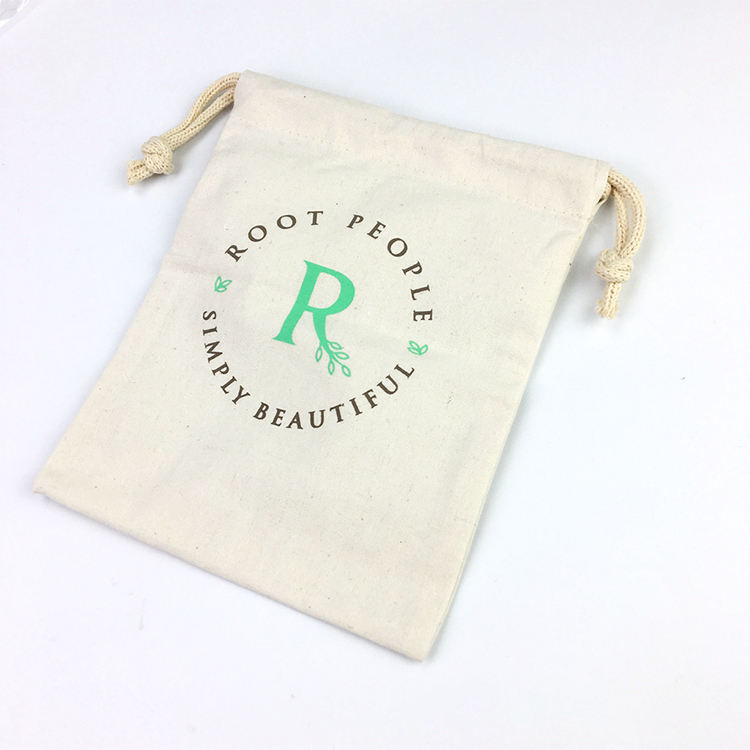 custom printed logo india canvas jewelry packaging drawstring gift bags cotton drawstring garbage bag