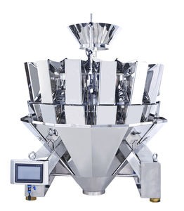 small food packing machine factory price 0.3/0.5/1.6/2.5/5/7.5L combination digital scales automatic multihead weigher
