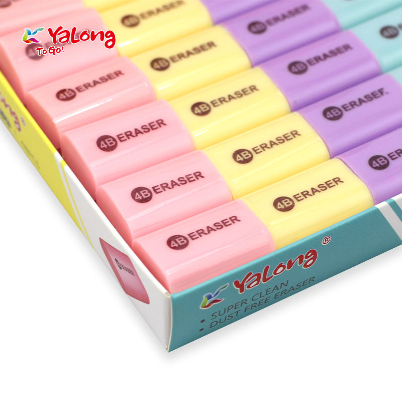Yalong High Quality Mini Eraser Colorful Eraser For Students