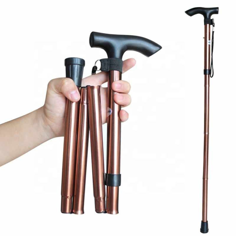 Foldable Walking Cane for Collapsible Lightweight Adjustable, Portable Hand Walking Stick
