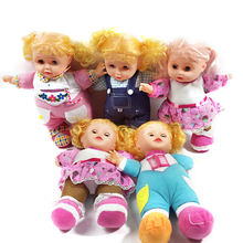 High Quality 16 inch girl favorite plastic baby doll cotton dolls for girls