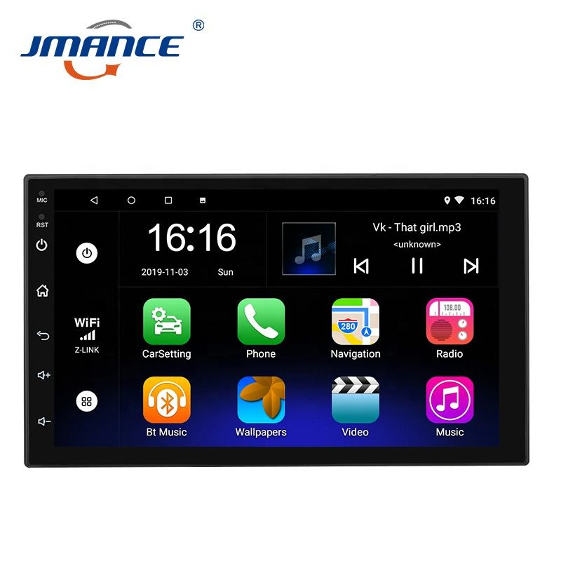 Universal Layar Sentuh 2 Din Android Car Radio Dvd Player Multimedia Double Din 7 Inch Gps Navigasi <span class=keywords><strong>Mobil</strong></span> <span class=keywords><strong>Stereo</strong></span>