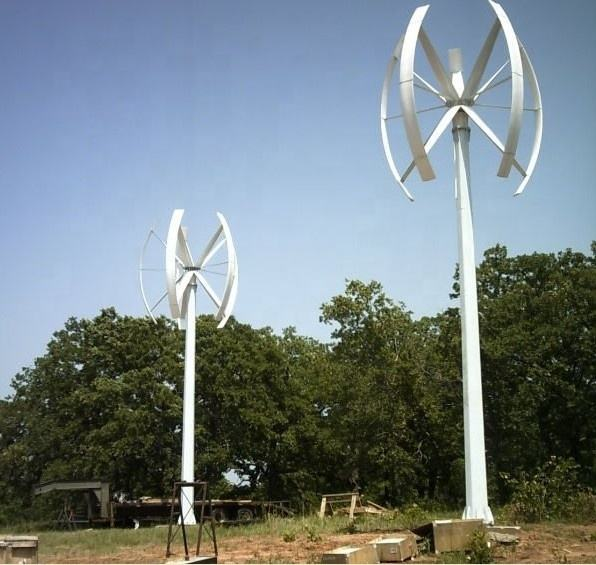 Chinese wind generators ALLRUN brand micro vertical wind turbine home use 5000W wind power vertical