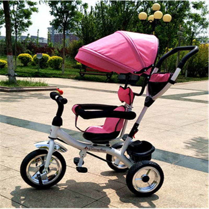 Manufacturers Direct New Baby Hand Push Tricycle Multifunctional Bicycle Children Scooter