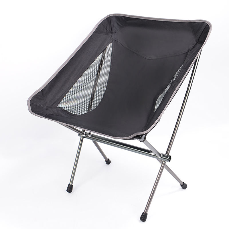 Low MOQ Outdoor Folding Camping Chair Easy To Carry Moon Chair