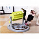 New Arrival Training Toy Adjustable Plastic Slow Feed Food Dog Cat Puzzle Pet Bowls Feeder
