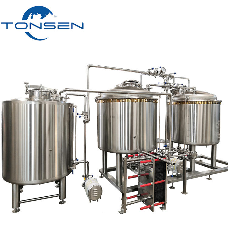 Beer brewery equipment small beer brewing 500L 1000L 10bbl 20bbl for MicroBrewery
