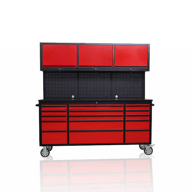 "72"" 15 Drawers Toolbox Mechanic Tool Storage Chest"