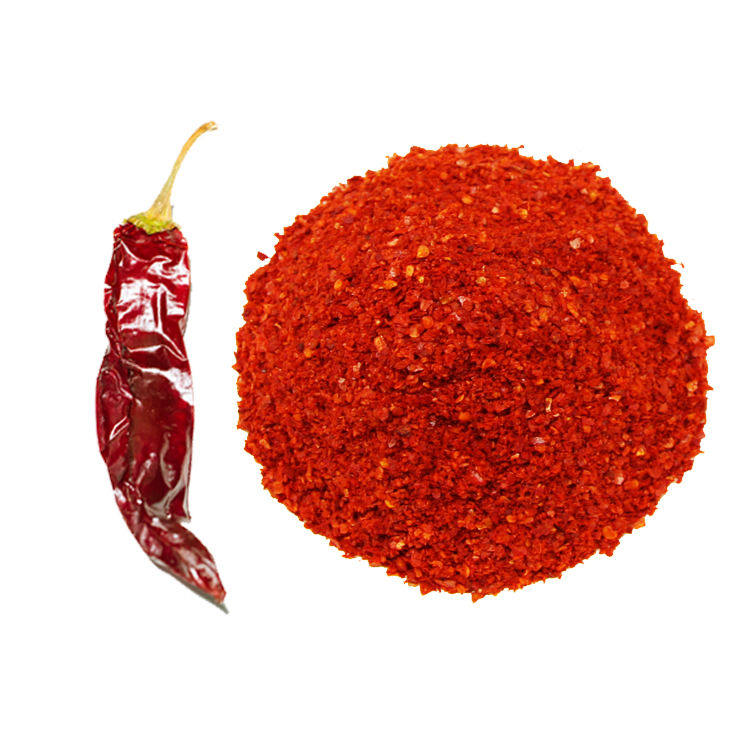 high quality export dried red hot chili pepper/sweet paprika flakes/crushed