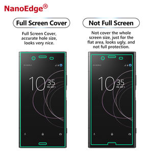 Nano Edge High Transparent Great TPU 3D Curved Screen Protector For Sony Xperia XZ1 Guard