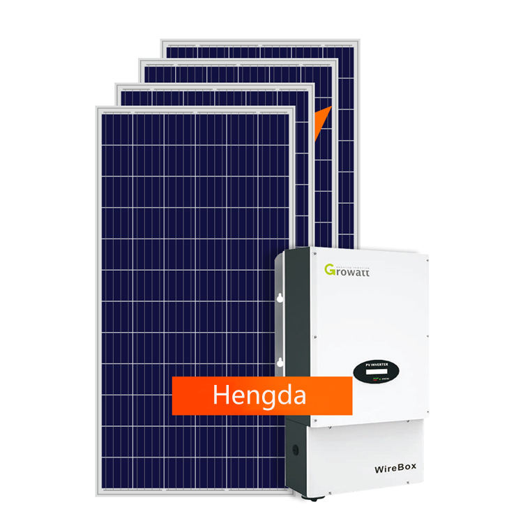Growatt inverter system 20000w solar panel power system home inverter 20kw esidential use