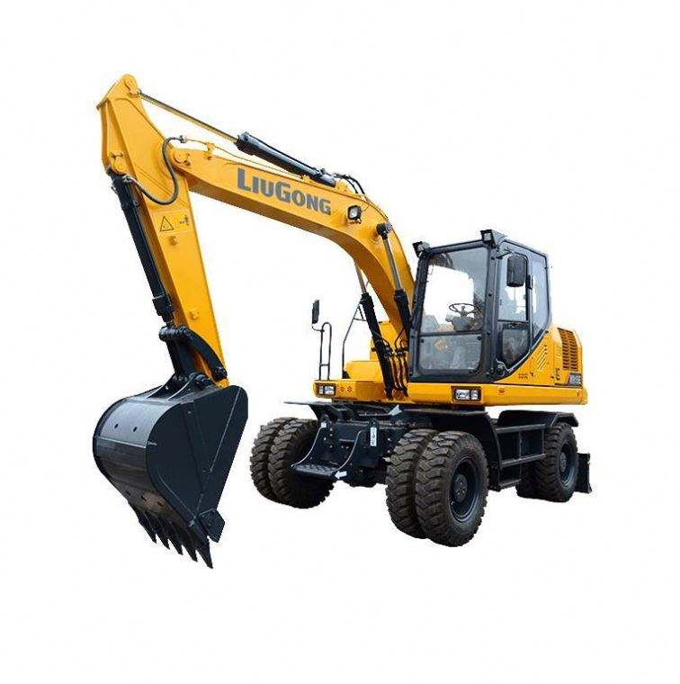 2020 Hot Sale Small Digger Mini Jg Wheel Excavator For Sale