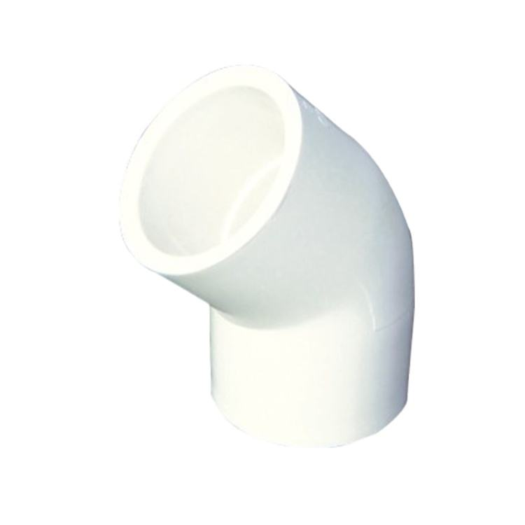 "YOUU Products Imported From China Wholesale 1/2"" Pipe Fittings PVC Elbow 45 Degree"