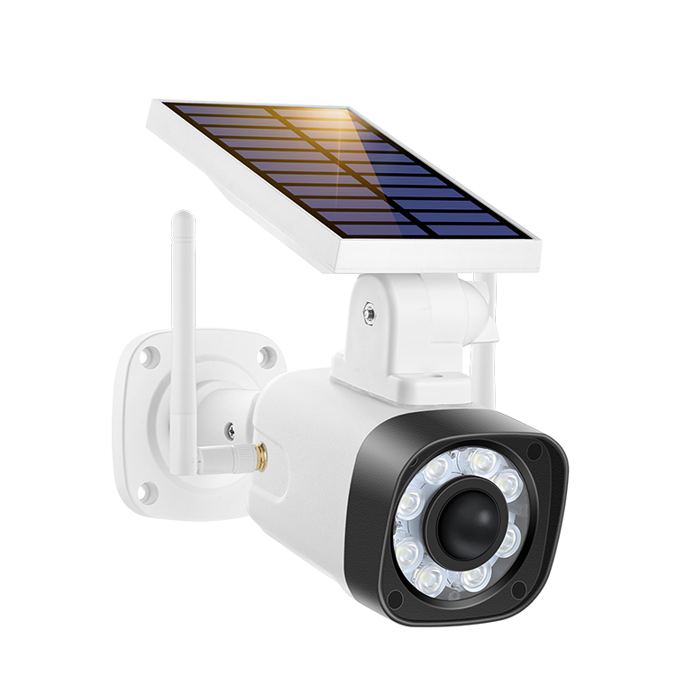 Easy Installation Energy Saving Vlog Wifi Solar Led Outdoor Flood Light Camera