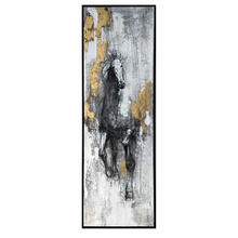 Handmade Abstract Antique Home decoration wall art Horse Oil Painting on canvas