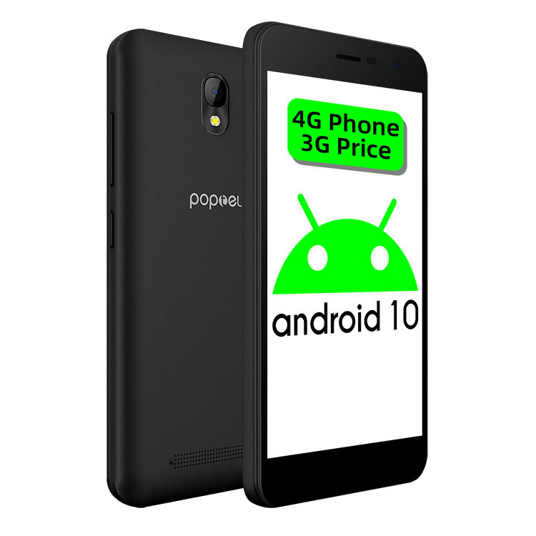 Hot Sale 5.0inch POPTEL K1 Smart Phone Unlocked Mobile Phone MTK6737 Android OS 10.0 cell phone