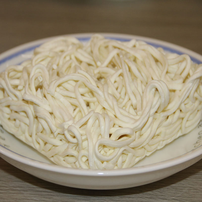 Noodles Just hot water  a bowl of cooked noodles anytime  anywhere Keep the gluten of fresh-boiled noodles long-lasting