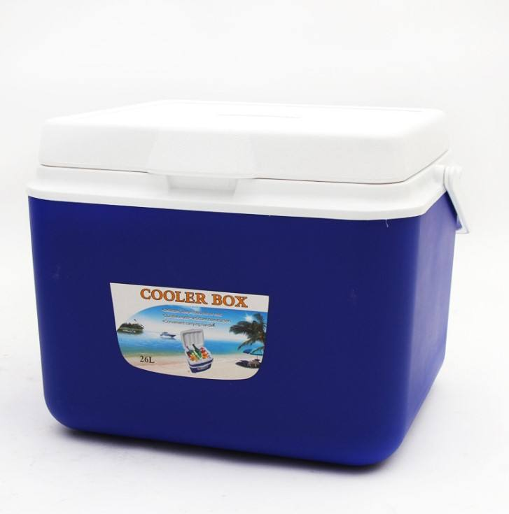 Plastic Cooler Box Factory Customize Promotion Gift 5L 13L 26L Beer Fruit Ice Cooler Box for Outdoor Camping Barbecue