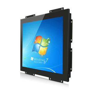 19 Inch Industrial Open Frame Touch Screen monitor advertising Digital Signage display Kiosk all in one pc