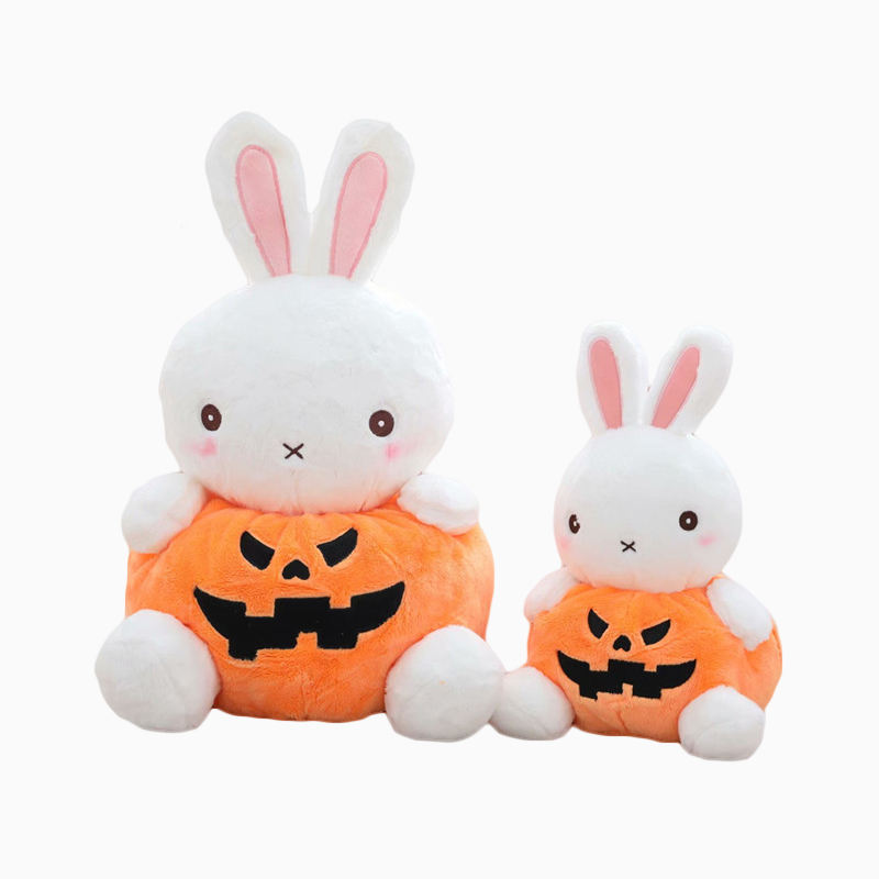 Cute Pumpkin Customized Kid Stuffed Happy Holiday Gifts Teddy Bear Animals Plush Party Props Festival Halloween Decoration Toys