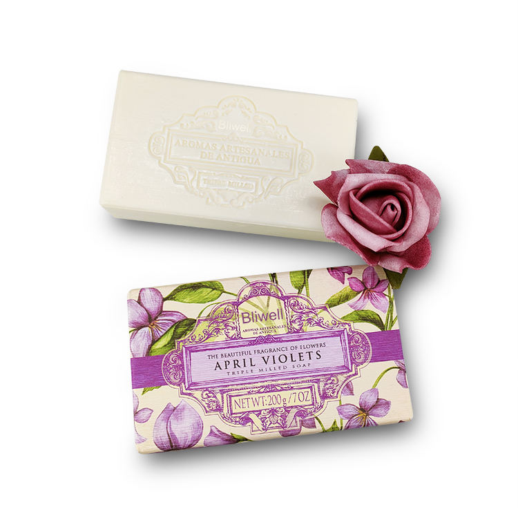 200G Wholesale plant floral fragrance private label whitening moisturizing soap can be provided to Amazon