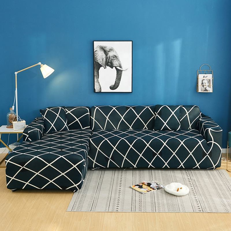 New Arrival Soft stretchable sofa coverElastic Sofa Cover L Shape