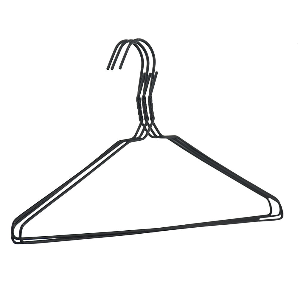 Cheap recycling laundry wire clothes shirt hanger for wholesale and supermarket
