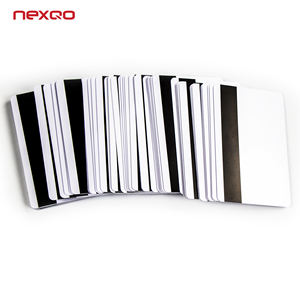 S0044 New Fashion Cheap Price Waterproof White PVC Magnetic Card with NFC Tag Factory in China