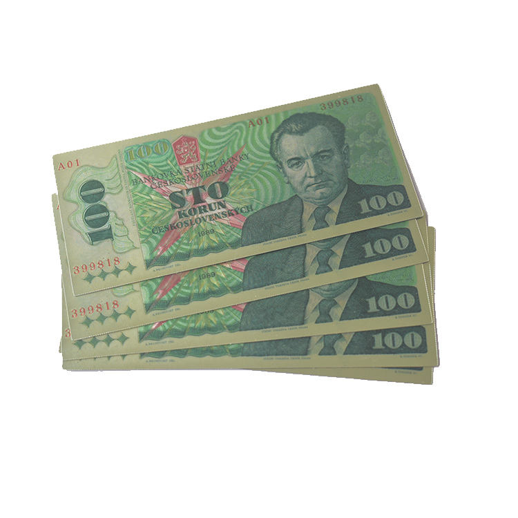 Worth Collection 100 Dollar Gold Currency Bill Money Banknote