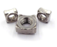 China factory Custom Stainless Steel Square Nut M3 Threaded Square Nut from manufacturer cost price