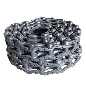 Mesin Tugas Berat Excavator Undercarriage Suku Cadang Pc200 Js200 Sk200-8 Sh240 Zx200 R210 Dh220 Track Chain Link ASSY