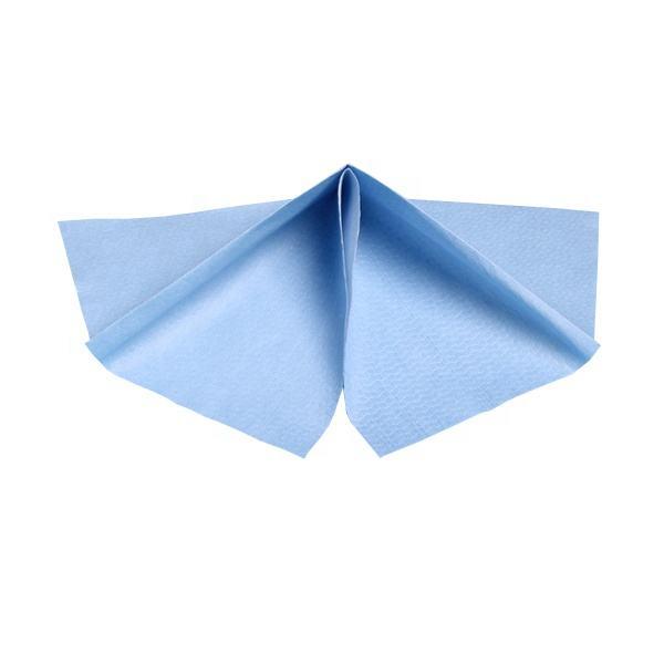 Durable En Utilisant le Tissu Jetable Non Pelucheux Nettoyage Industriel Non-Tissé de Spunlace de Rouleau de Tissu de Lavage